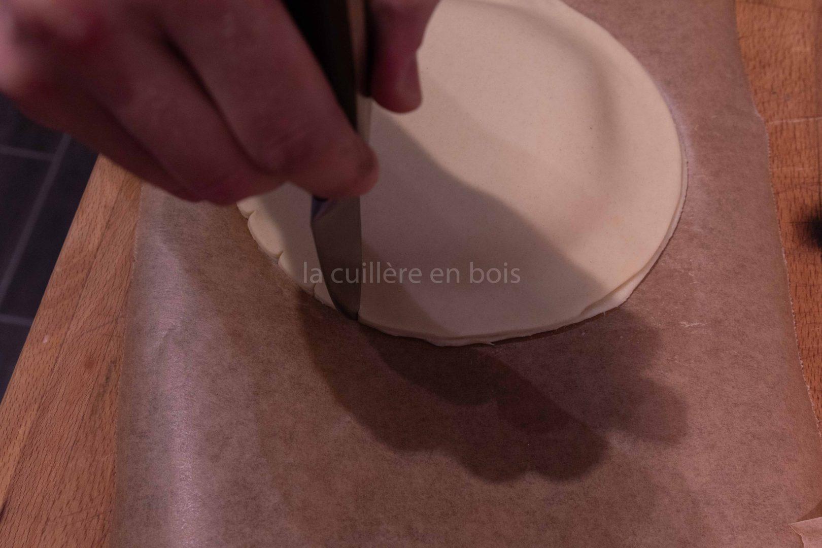 galette des rois frangipane fondante croustillante vanille
